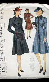 Oh hello beautiful 1930s coat. Someday I'm going to make you.