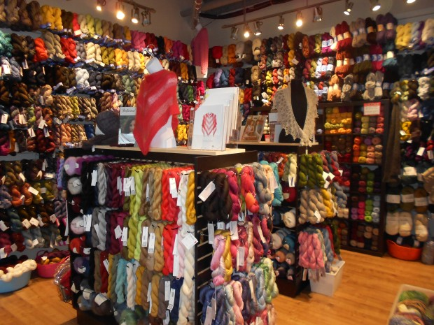 Check out all that yarn!